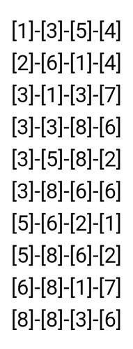 第7回当たるんです抽選番号