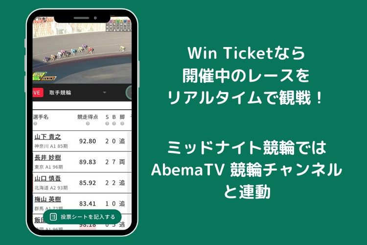 Win Ticket(ウィンチケット)レース観戦